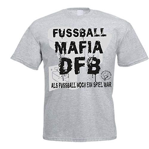 Volkspark Hamburg Streetwear Shirt F_B_Mafia Grau XXL