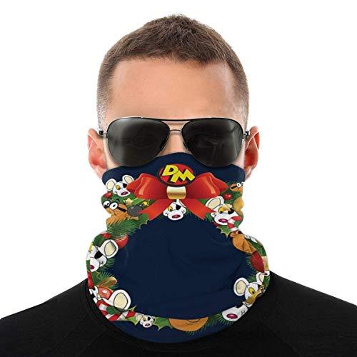 Guirnalda de Navidad multicara Peligro Ratón Variedad Cabeza Bufanda Cara Cara Boca Cubierta Mágica Headwear Cuello Polaina Cara Bandana Bufanda