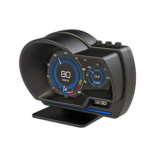 Mentmate 最先端 メーター GPS OBD2 スピードメーター 車 両モード スピードメーター ヘッドアップディスプレイ HUD 12V 追加メーター AP-6 日本語説明書 過速度警告搭載