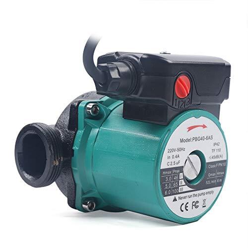 Heizungspumpe/Umwälzpumpe 25-60/120mm Pumpe 65L/min Warmwasser Heizung Zirkulationspumpe Nassläufer Hocheffizienzpumpe