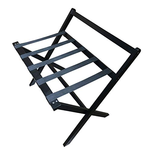Best Review Of GDXLJ Folding Luggage Rack Folding Luggage Racks Bedroom Hotel Suitcase Support, Soli...