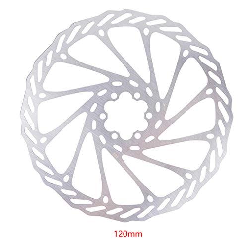 ELENXS Mountainbike Rennrad Bremsscheibe MTB Fahrrad Metall Bremsscheibe Fahrradzubehör 120mm