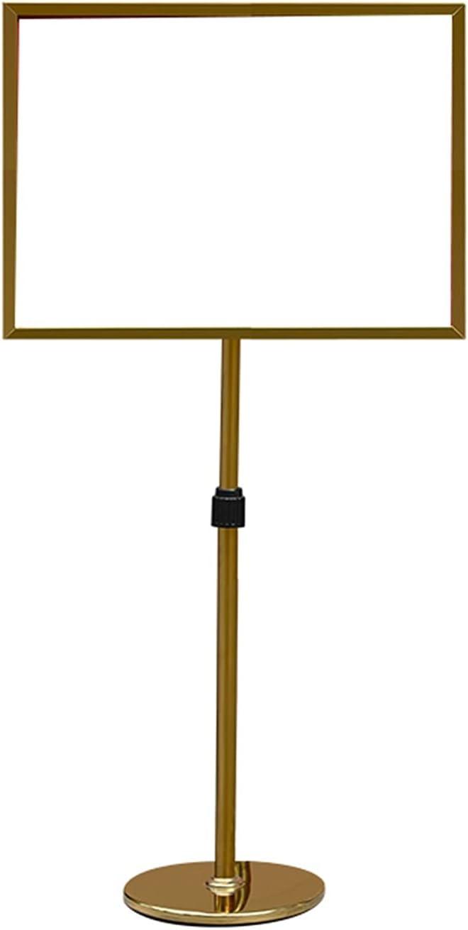 Sign Holder Floor Genuine Stand A2 Selling Poster Display Adjustable Snap