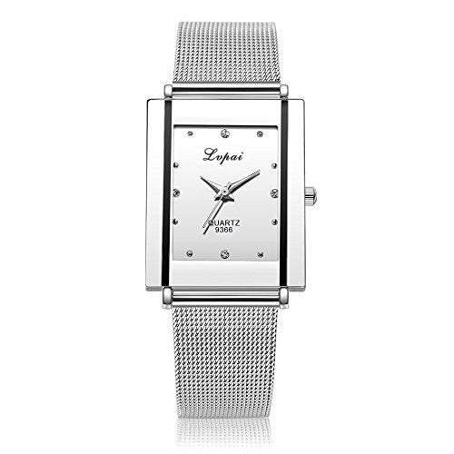 Armbanduhr Damen Uhren Schmuck Quarzuhr Analog Edelstahlarmband Muttertagsgeschenk Geburtstagsgeschenk Frauen Mädchen Uhren Frauen Mädchen Quarz Armbanduhr Uhr Damen Kleid Geschenk Uhren
