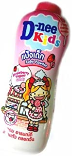 D-nee Kids Baby Powder Strawberry Yogurt Candy 450g.