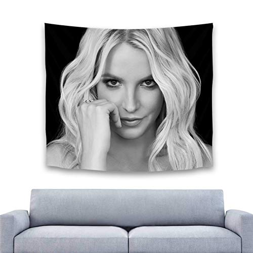Britney Spears Hanging Beautiful Colorful Tapestry Art for Living Room Dorm or Bedroom Wall Decor for Mural Decoration Perfect to Brighten up Any Room 60'x 40' Inch