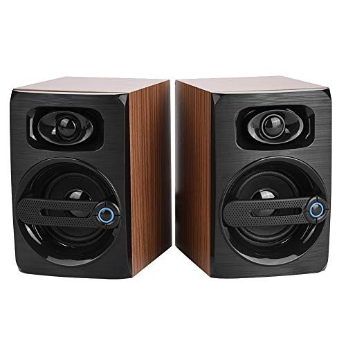 Plyisty Computer Speakers with Subwoofer, Powered Bookshelf Speakers,...