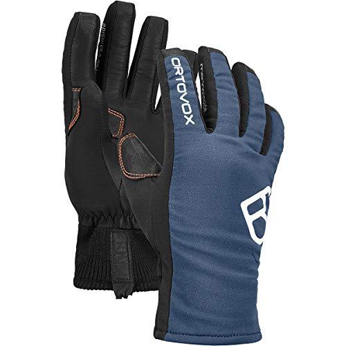 ORTOVOX Mens Glove Liners, Night Blue, M