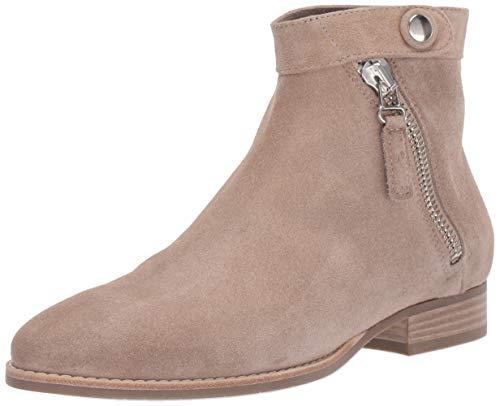 Aquatalia Women's Rose Suede Ankle Boot, Ecru, 8 M US