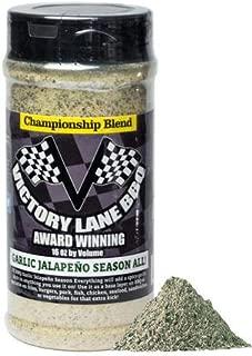 Victory Lane BBQ Garlic Jalapeño Season All 16 Oz Shaker of Dry Rub--Award-Winning Competition Quality Championship Blend