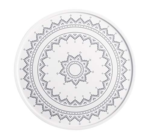 Kahla Hygge Kreuzstich grau Platte/Tortenplatte 31 cm