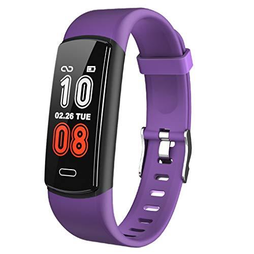 LQIAN Y29 Fitness-Armband, wasserdichter IP68 Fitness-Tracker mit Blutdruckmessgerät, Pulsmesser, 0,96 Zoll Farbmonitor Activity Tracker Smartwatch, Schrittzähler Smart Watch Watch Mens Womens Kids