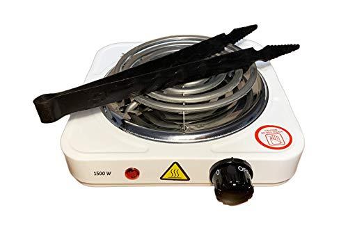 Hornillo eléctrico portátil para Cachimba - Shisha - Hookah | Cocina |...