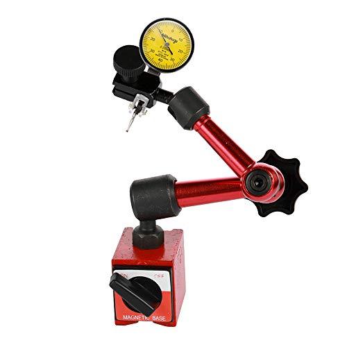 Stoßfester, wasserdichter Hebel-Messuhr und flexibler Mini-Magnethalter mit Halterung für Werkzeughalter