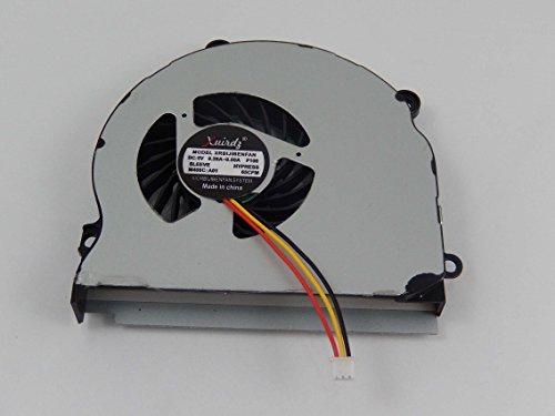 vhbw Ventola per CPU/GPU con Spina 3-Pin sostituisce Samsung DC28000BMS0, KSB06105HA per Notebook, Laptop