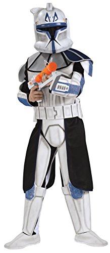 Clone Trooper Captain Rex Star Wars™ Kostüm für Kinder - 8-10 Jahre