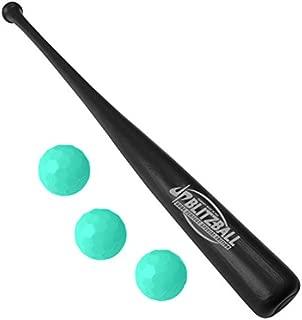 BLITZBALL Dude Perfect Starter Pack - Includes (3) Blitz Balls & 1 Power Bat - Limited Edition