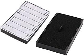 eDealMax acuario de accesorios de carbón Activo Filtros Bomba de aire de esponja almohadillas de repuesto