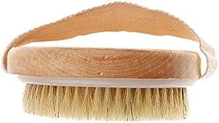 MAYCREATE® Imported Round SPA Bath Wooden Brush Pig Bristles Shower Scrubber Massager Body