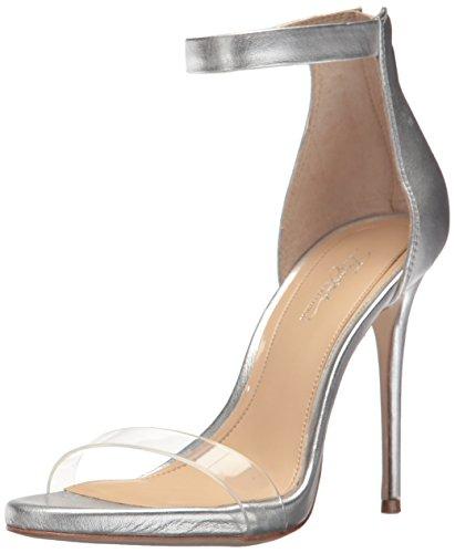 Imagine Vince Camuto Women's Diva Heeled Sandal, Platinum, 8 Medium US