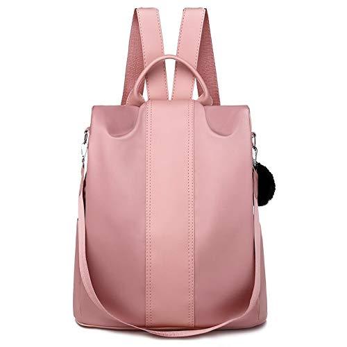 ZHEBEI Waterproof Women's Backpack Wallet Anti-theft Lightweight Student Shoulder Bag Teen Girl Shoulder Bag