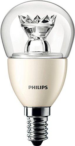 Philips Master LED 3.5W lampadina sferica Luster (25W ricambio), dimmerabile, attacco E14Small Edison Screw, Grey, Old Single, E14 (Small Edison Screw) 230 volts