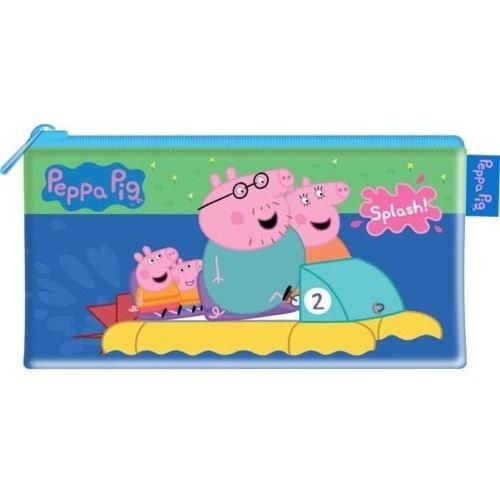 Peppa Pig Large PVC Flat Pencil case