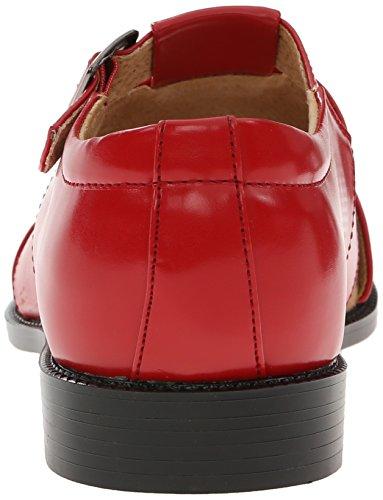 Stacy Adams Men's Catalina Dress Sandal, Cognac, 10 M US