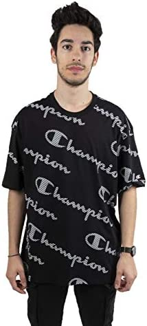 Camiseta Champion Crewneck para Hombre Manga Corta - 214164-kl001