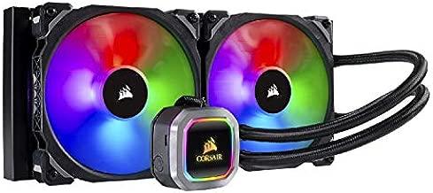 Corsair H115i RGB Platinum AIO Liquid CPU Cooler,280mm,Dual ML140 PRO RGB PWM Fans,Intel 115x/2066,AMD AM4/TR4