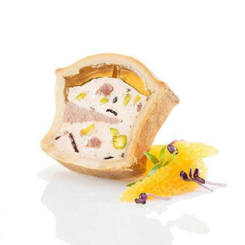 Pâté Napoleon, vom Schwein mit Leber, im Teigmantel, TK, 500 g