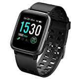 LATEC Fitness Tracker, Smartwatch Fitness Watch Impermeabile IP68 con Cardiofrequenzimetro Monitor...