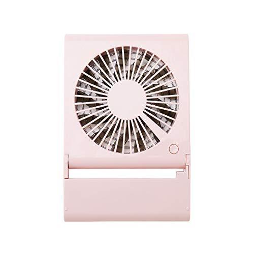 JUGTL Ventilador de escritorio de carga portátil USB Pc Fanthree Speed Regulation Student Dormitory Wind Pequeños Ventiladores Refrigeración Silencioso Hogar Cuadrado Ventilador 20.5X14X2 CM