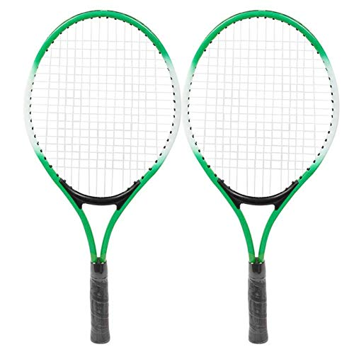 Mutuer Raqueta de Tenis para niños Mejor Kit de Inicio Raqueta de Tenis para niños de aleación de Hierro Accesorio de Raqueta de práctica para Principiantes con Pelota y Bolsa de Transporte