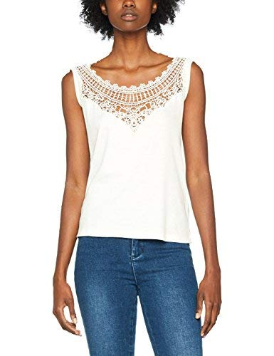 Diesel T-Meadow Top, Camiseta Mujer, Blanco (129 Grey 0Jaov), Small