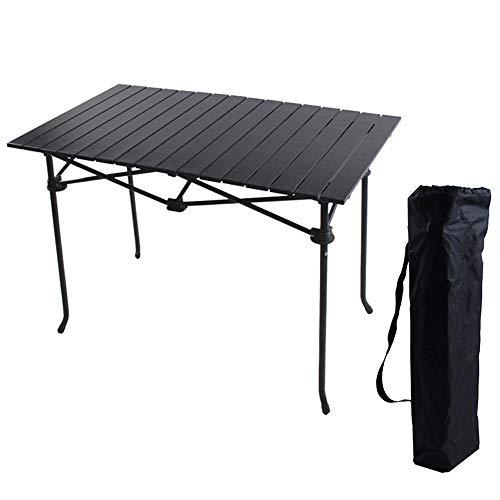 WYYH Campingtisch Klappbar Leicht, Lange Aluminiumlegierung Camping Klapptisch Marmorfarbe Kratzfest Klapptisch Tisch Klappbar Verwendet Für Picknick Camping Strand Barbecue