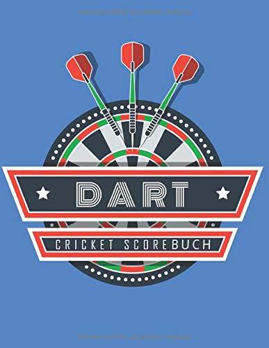 Dart: Cricket Scorebuch; Das Scorebook für deine Dart Spiel- und Trainigstage im A4+ Format