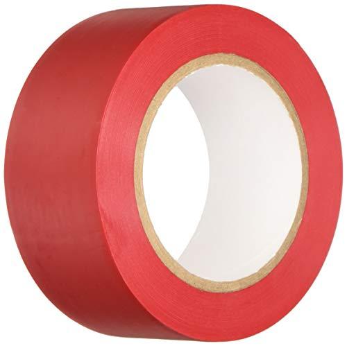 BONUS Eurotech 1BL23.45.0050/033A# PVC Bodenmarkierungsband, Klebstoff auf Kautschuk Basis, weich, Länge 33 m x Breite 50 mm x Dicke 0,17 mm, Rot
