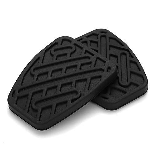 ETbotu Autozubehör, 1 Paar OE 46531JD00A Pedalpolster für Bremse und Kupplung, Gummiüberzug für Nissan Qashqai