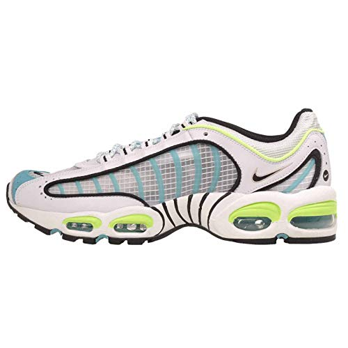 Nike Air MAX Tailwind IV SE, Zapatillas para Correr Hombre, White Black Ghost Green Oracle Aqua, 45.5 EU