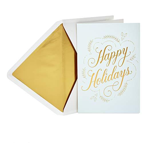 Hallmark Signature Holiday Card (Happy Holidays)