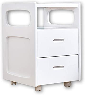 SCDXJ Bedside Table with Drawer for Bedroom Bedside Table with Drawer Shelf Cabinet Storage Unit