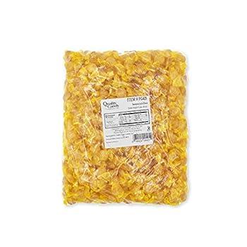 Quality Candy Company Butterscotch Discs 5 Pounds