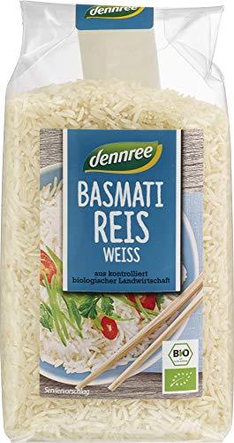 dennree Bio Basmati-Reis weiß (6 x 500 gr)