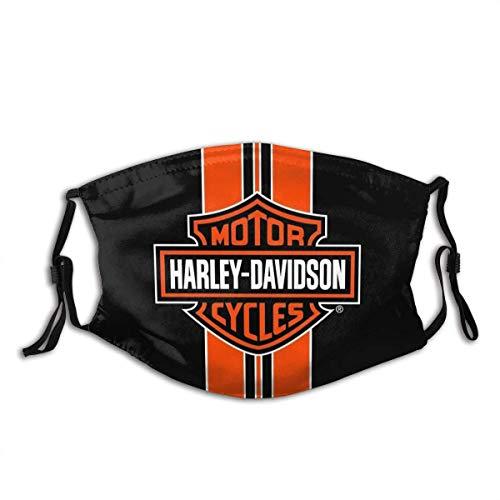 Harley Davidson Wind Dust Bandana riutilizzabile e lavabile Fbalaclava, scaldacollo, sciarpa, copertura testa