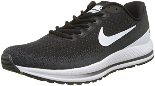 Nike Men's Air Zoom Vomero 13 Running Shoes-Black/White/Antracite-9.5