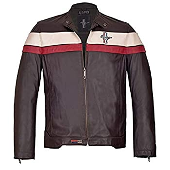 Mustang Jackets Brown Leather Muco 192  XXL