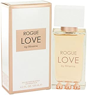 Rihanna Rogue Love by Rihanna Eau De Parfum Spray 4.2 oz for Women - 100% Authentic