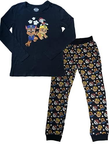 Paw Patrol Pyjama Jungen [Baumwolle] Kinder Schlafanzug Paw Patrol Shirt + Hose Set Junge Kleidung Sweater Bekleidung Mit ÖKO TEX Standard Größe 110/116
