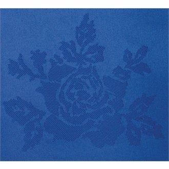 Winware tissé Polyester Roslin Rose Royal Nappe bleue – 1778 X 2743 mm (177,8 x 274,3 cm) (100% polyester tissé Motif rose chiffons avec d'Excellentes Propriétés de rétention de couleur et facile d'entretien. Serviettes Vendu en Lot de 10)